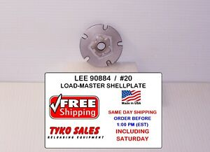 90884 * LEE LOAD-MASTER PROGRESSIVE *  SHELL PLATE #20 * 22 HORNET