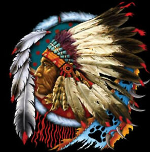Native American Indian Chief Dreamcatcher Tee T Shirt New $15.99