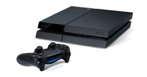Sony PlayStation 4 PS4 500 GB Black Console w accessories 6 month warranty $299.99
