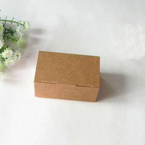 24x Kraft Boxes Wedding Party Favour Birthday Bomboniere Cake Candy Lolly Boxes