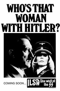 Ilsa: She Wolf of the SS 1975 Movie Poster