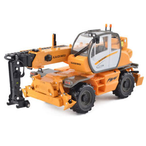 KDW 150 Scale Diecast Multifunctional Crane Model Construction Equipment