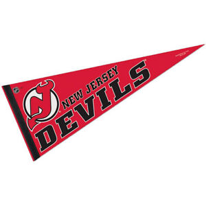 New Jersey Devils Full Size 12quot; X 30quot; NHL Pennant