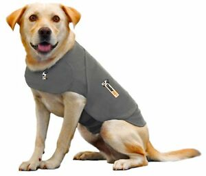 Thundershirt for Dogs. Calming Jacket for storms anxietyBarking. 3 colours