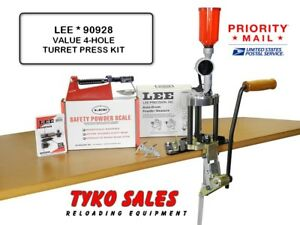 90928 *  LEE 4-HOLE VALUE TURRET PRESS KIT * WITH AUTO INDEX