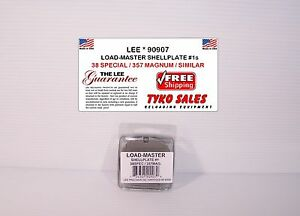 90907 * LEE LOAD-MASTER PROGRESSIVE *  SHELL PLATE #1S * 357 MAGNUM * 38 SPECIAL