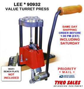 90932 * LEE PRECISION 4-HOLE TURRET PRESS WITH AUTO INDEX * #90932 * NEW!