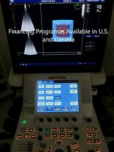 Ge Vivid E9 XDClear Ultrasound Refurbished 2018 with M5Sc-D all option open
