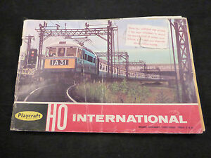 ho catalogue 1968 edition poor condition