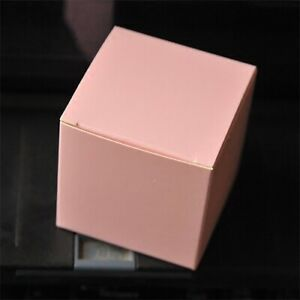 50x White Gift Favour Boxes Lid Birthday Party Wedding Favours Bomboniere Candy