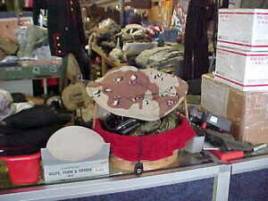 PASGT CHOCOLATE CHIP Helmet Cover Medium / Large Desert Comouflage PREPPER