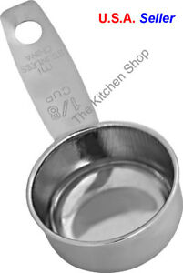 Coffee Scoop Stainless Steel Standard 2 TBSP 1 8 Cup Kitchen Tools amp; Gadgets $6.50