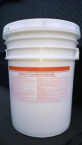 5 GAL A.P ORANGE CITRUS CLEANER DEGREASER ODOR ELIMINATOR PATRIOT CHEMICAL SALES