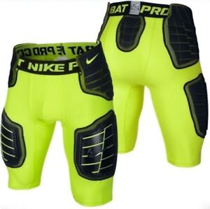 NEW Mens M L X NIKE Pro Combat Hyperstrong Compression HardPlate Football Shorts