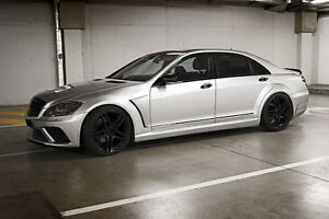 06-08 MERCEDES  S Class W221 body kit + exhaust tips fx