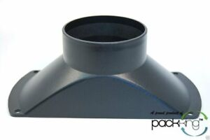 4'' Mini Dust Hood Flange Port Collection Vacuum for Woodworking Shop - New!