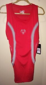 UNDER ARMOUR MPZ Gameday Padded Basketball Compression Tank RED NEW Men S XL 2XL