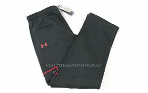 UNDER ARMOUR STORM FLEECE CARGO BOYS PANTS NWT 1249153-001 BLACK SIZE YXL