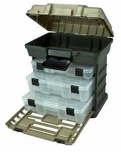 Plano Molding South Bend Stow Go Toolbox Tackle Box Fishing Fish Bait Lure Case