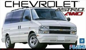 fujimi rs 87 1 24 chevrolet astro lt 4wd limited