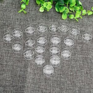 Plastic Clear Type Empty Thread Bobbin String Sewing Spool for Sewing Craft Tool $1.29