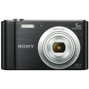 Sony DSC-W800B Point and Shoot Digital Still Camera - Black