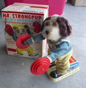 rare 1950s alps battery operated mr