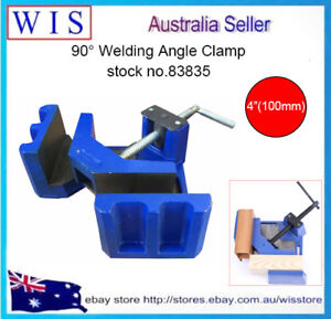90° Heavy Duty Cast Iron Angle Clamp 4quot; 100mm JawVices Welding Angle Clamp83835 AU $129.99