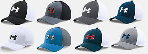 Under Armour Men's UA Golf Mesh Stretch 2.0 Flex Fit Cap Hat  - ML or LXL