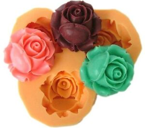 Mini Flowers Silicone Sugar Craft DIY CupCake Decorating Mould Cake Fondant Mold