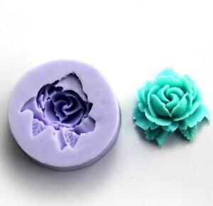 Mini Flower Silicone Sugar Craft DIY Mould Candy Cake Fondant Decorating Mold