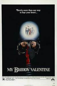 MY BLOODY VALENTINE Movie Poster Licensed NEW USA 27x40 Theater Size 1981