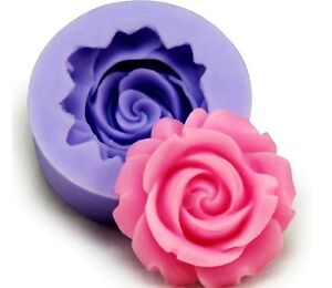 Mini Rose Sculpting Silicone Sugar Craft DIY Mould Gum Paste Cake Fondant Mold