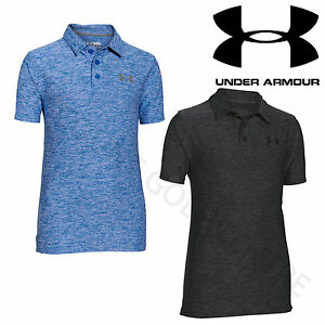 Under Armour Boys Golf PlayOff Junior Short Sleeve Polo Shirt - 1282784