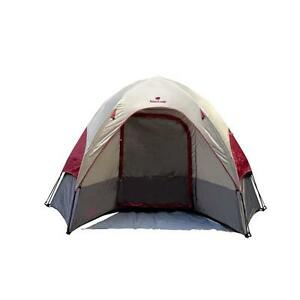 Nature's Lodge 9' x 8' Instant Dome Tent Camping Outdoor Sporting Goods New