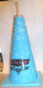 DISNEYLAND CARSLAND HOLIDAY TRAFFIC CONSTRUCTION CONE SHAPED DRINK CUP~NEW~32 OZ