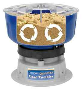 Case Tumbler 9mm case cleaning brass 360 223 clean tumbling reloading dies NEW