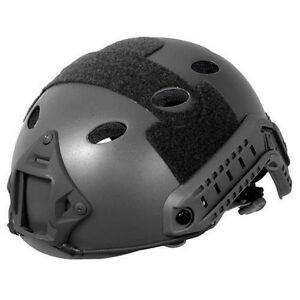 Lancer Tactical Airsoft Fast PJ Type Helmet NVG Camera Mouth Padded CA-738B