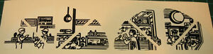 air police 7604 control tower repro decal set