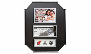 NHL Los Angeles Kings 2012 Stanley Cup Champion NJ Devils 4x6 Photo Ticket Frame