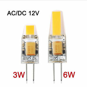 G4 LED 12V ACDC COB Light 3W 6W High Quality LED G4 COB Lamp Bulb