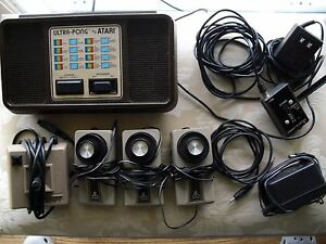estate find 1977 ultra doubles atari console parts