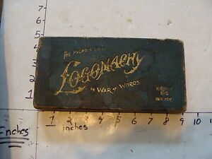 vintage game the premium game logomachy or