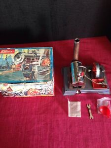 d5 toy steam engine in box west germany nice