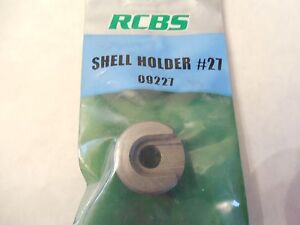 *NEW;  RCBS Shell Holder #27;  09227;  357 Sig 40 S&W 10mm Auto
