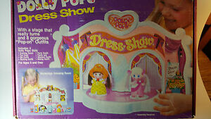 knickerbocker toy co dolly pops dress show