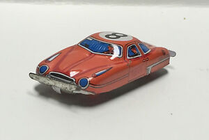 vintage 50 s tin litho mini penny toy taxi