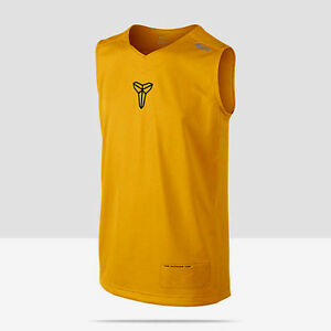 NWT Nike Boys Kobe Sleeveless Dri-Fit Basketball Tops T-Shirts Size S