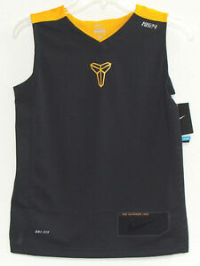 NWT Nike Boys Kobe Sleeveless Dri-Fit Basketball Top T-Shirt Size S