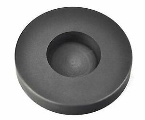 4 oz Troy Round Silver Graphite Ingot Coin Mold Melting Casting Refining Metal